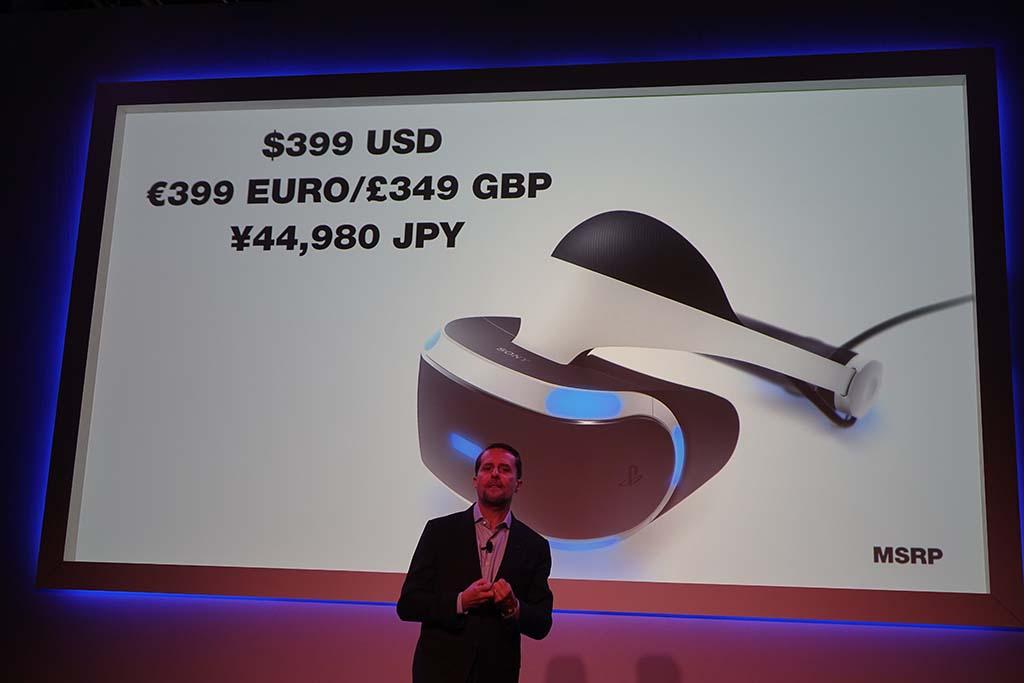 PlayStation VRは44,980円