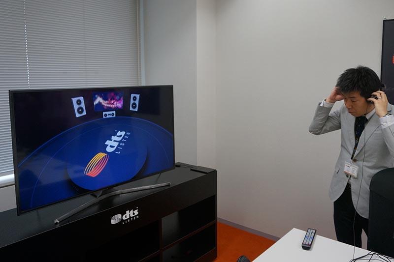 SamsungのテレビにDTS Headphone:Xを搭載。Bluetoothヘッドフォンでサラウンドを楽しめる