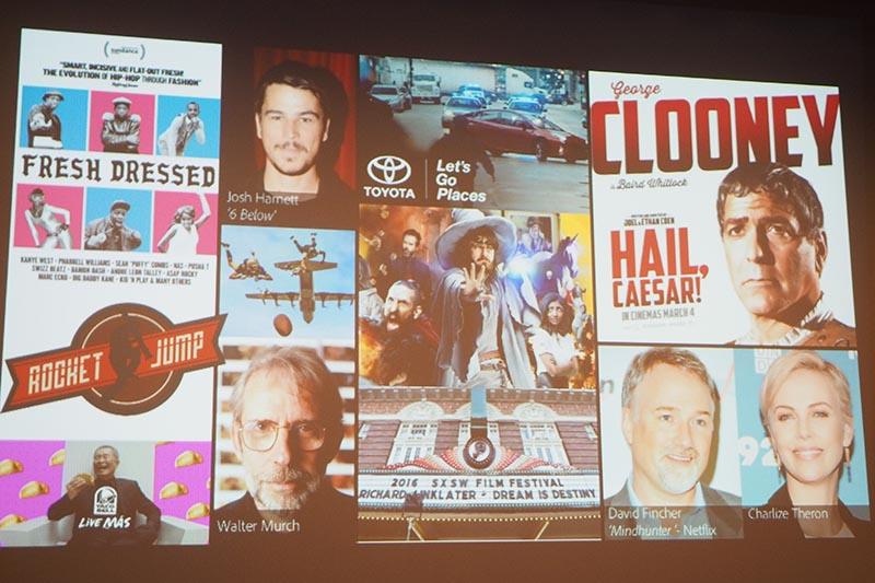 Adobe製品が採用された映像作品の一例