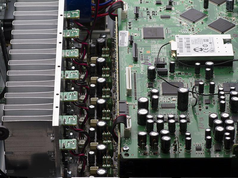 AVR-X1300Wのパワーアンプ部