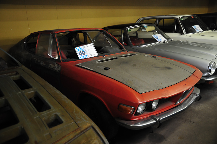 BMW 2002 GT4 Coupe Frua プロトタイプ(1968年)