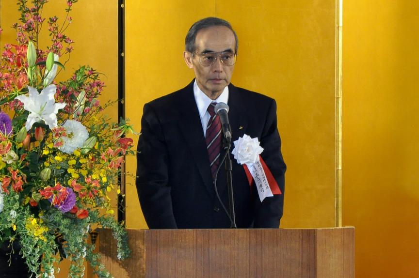 首都高速道路株式会社代表取締役会長の長谷川康司氏