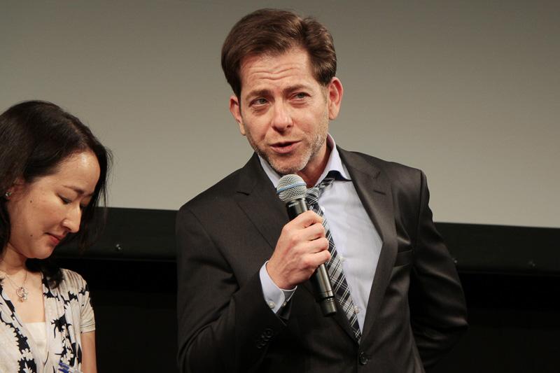 ジョーイ・ホルビッツ氏は「このプロジェクトがどんどん伸びていって、次世代につながると思っています」とLEXUS SHORT FILMSの取り組みについて賞賛