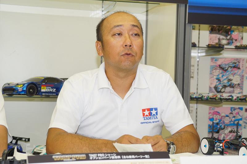 株式会社タミヤ 企画開発部 一課の鈴木清和氏