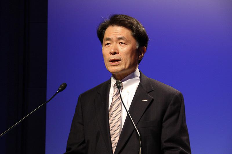 「事業構造改革室」の室長に就任した山下光彦取締役 副社長執行役員(写真は2012年の日産自動車在籍時に撮影したもの)