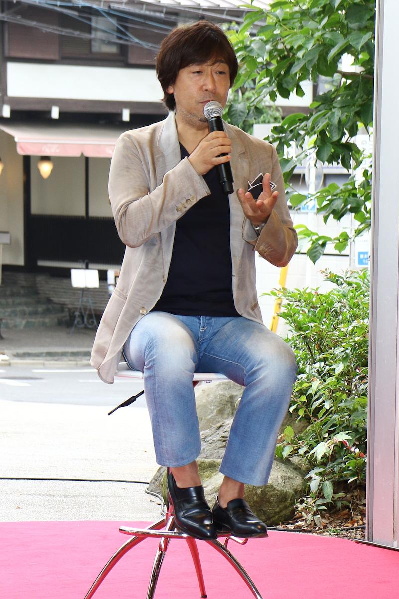 雑誌「Pen」の編集長である安藤貴之氏