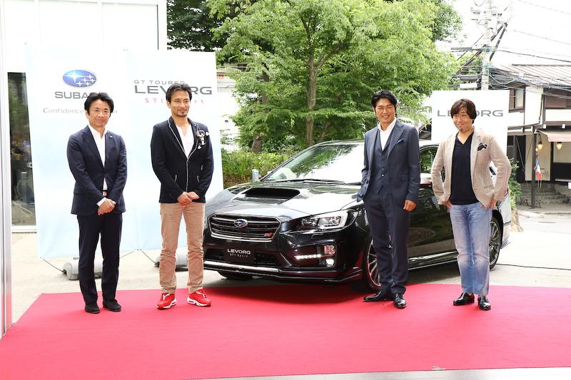 発表会とともに行なわれたトークショーには中村氏を含めた4人が参加