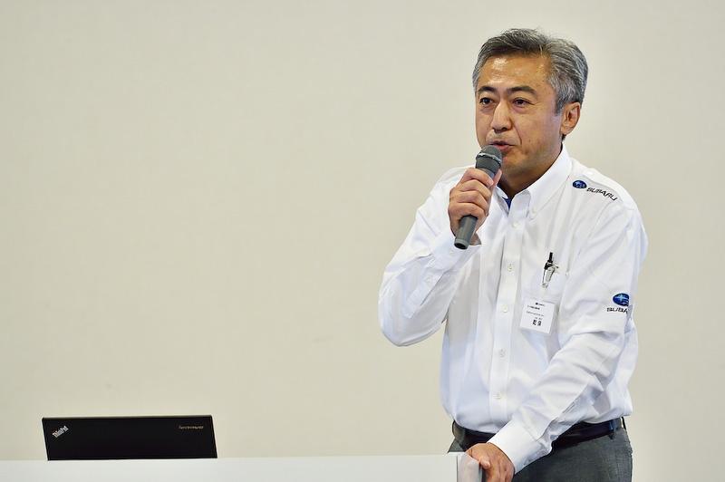 富士重工業株式会社 スバル商品企画本部 プロジェクトゼネラルマネージャーの乾保氏