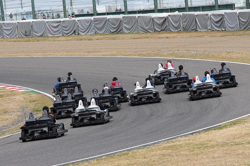 写真は3月に行なわれた「モータースポーツファン感謝デー」で開催されたサーキットチャレンジャーイベント