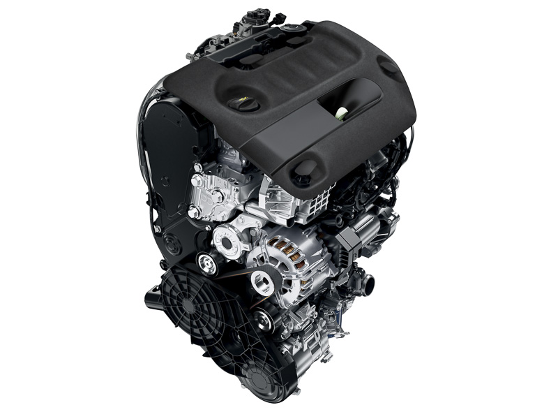 直列4気筒DOHC 2.0リッターターボディーゼル