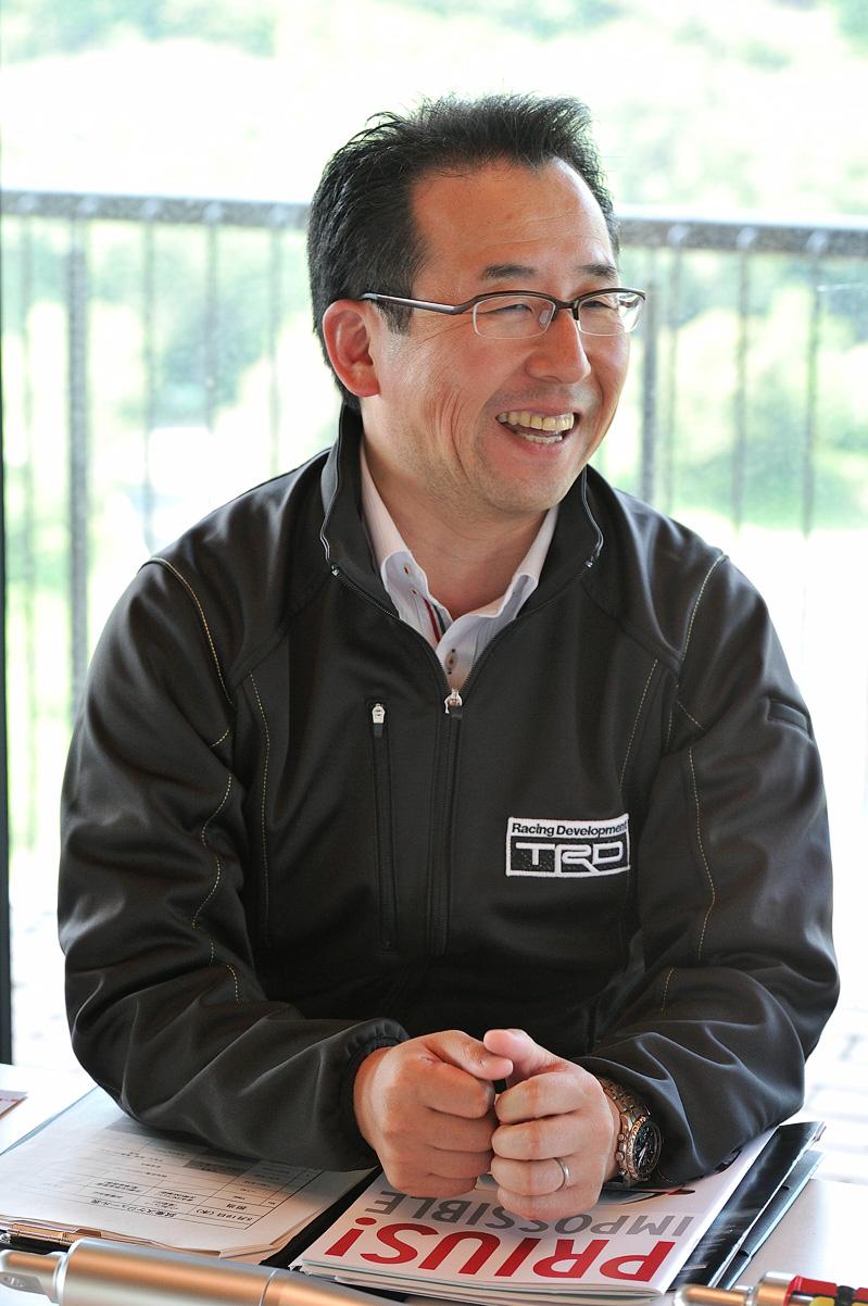 トヨタテクノクラフト株式会社 商品事業部商品販売室 販売促進グループ ゼネラルマネジャー 友岡久明氏