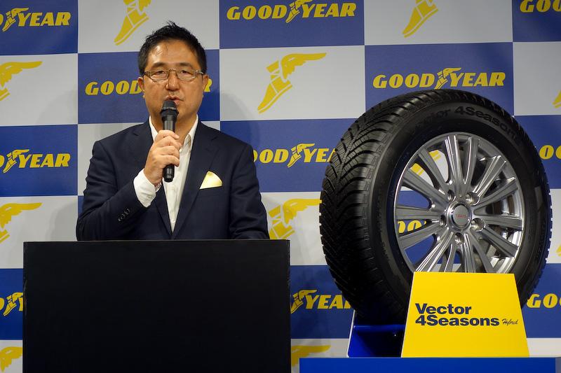 日本グッドイヤー株式会社 技術本部長 松崎洋明氏