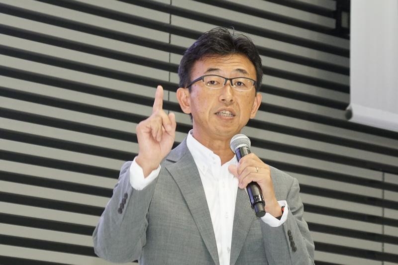 富士重工業株式会社 商品企画本部 プロダクトゼネラルマネージャー 阿部一博氏