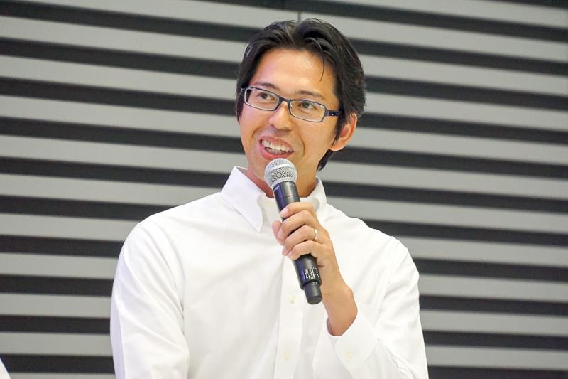 富士重工業株式会社 第一技術本部 シャシー設計部 主査 井本昌志氏