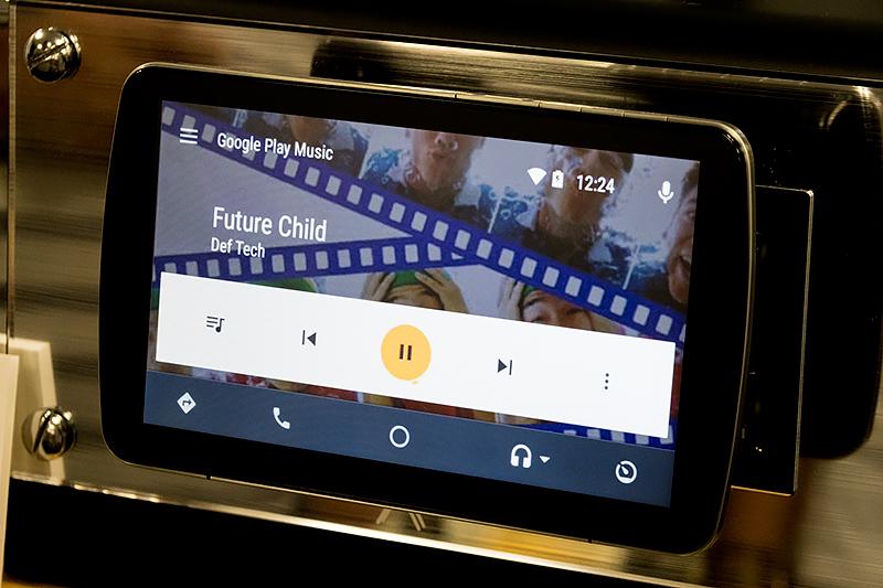 Google Play ミュージック再生画面