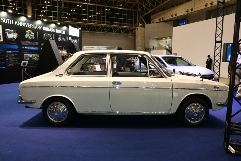 1966年に登場したスバル1000