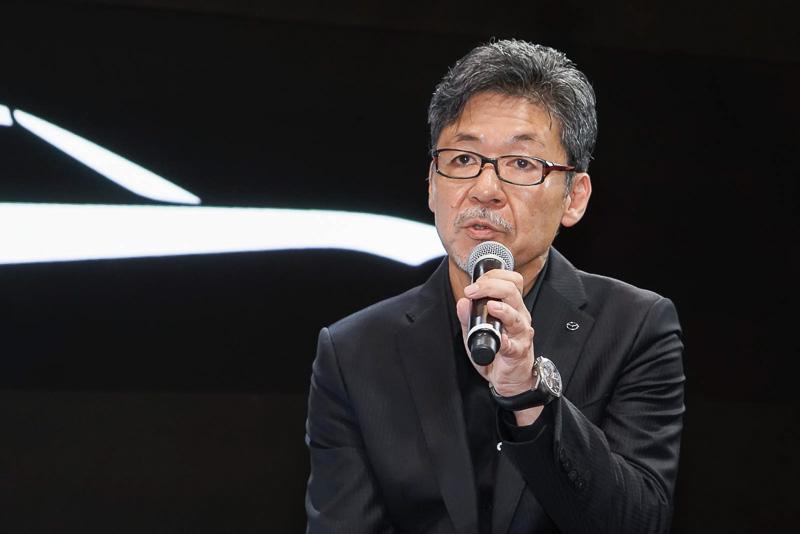 マツダ株式会社 常務執行役員 デザインブランドスタイル担当 前田育男氏