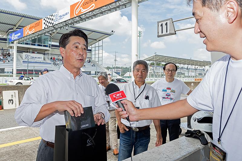 マツダ株式会社 代表取締役社長兼CEOの小飼雅道氏が訪れた