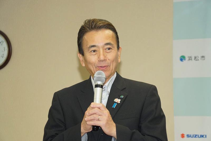 浜松市 市長 鈴木康友氏
