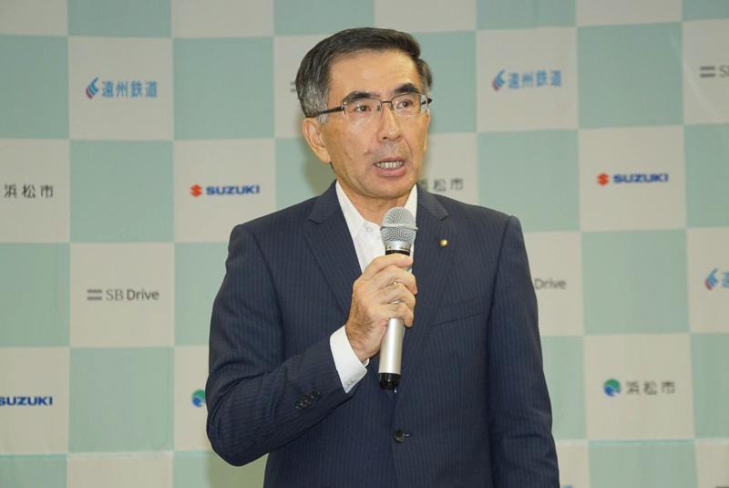 スズキ株式会社 代表取締役社長 鈴木俊宏氏
