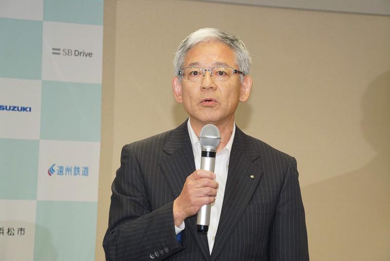 遠州鉄道株式会社 代表取締役社長 斉藤薫氏