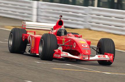 スクーデリア・フェラーリが2001年初戦よりF1世界選手権に実戦投入した「F2001B」(2001年)
