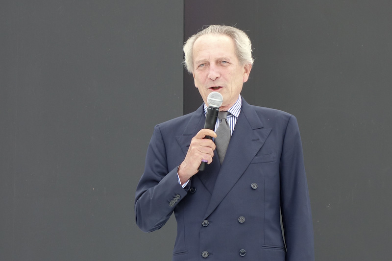 イタリア大使のドメニコ・ジョルジ氏