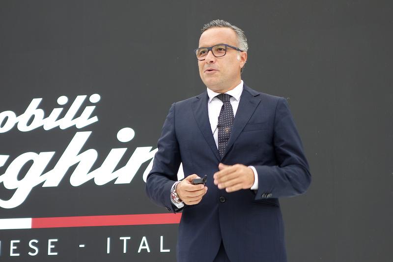 アウトモビリ・ランボルギーニ アドバンスト・コンポジット部門 チーフのルチアーノ・デ・オト氏