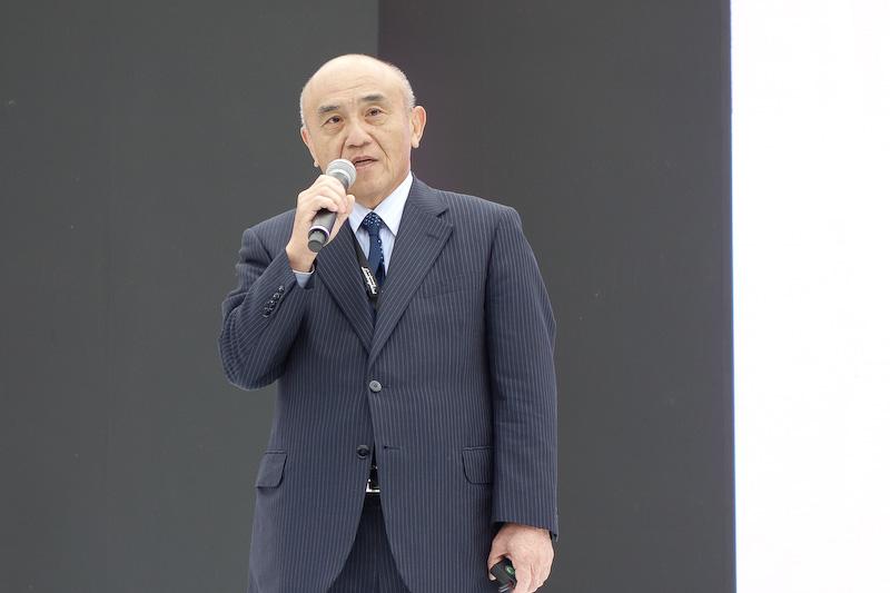 三菱レイヨン株式会社の社長である越智仁氏