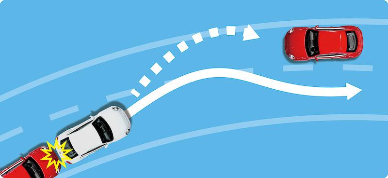 ポストコリジョンブレーキシステムのイメージ