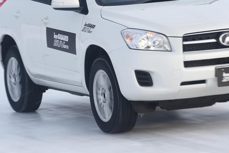 アイスガード SUV G075装着車