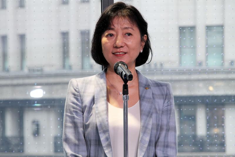 日産自動車株式会社 専務執行役員 星野朝子氏