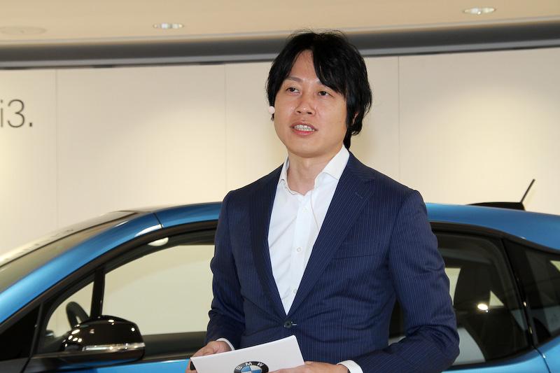 ビー・エム・ダブリュー株式会社 BMW ブランド・マネジメント プロダクト・マーケティングの生野逸臣氏