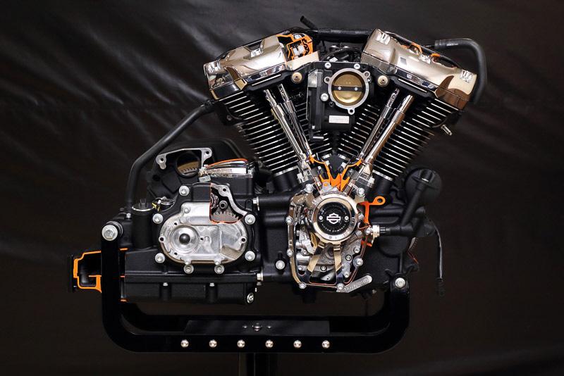 ハーレーダビッドソンの新しいエンジン「ミルウォーキーエイト」