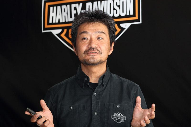 ハーレーダビッドソン ジャパン株式会社 セールスマネージャー  平田寿樹氏