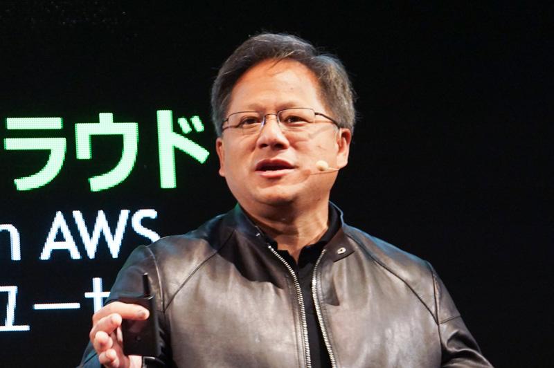 NVIDIA 社長兼CEO ジェンスン・フアン氏
