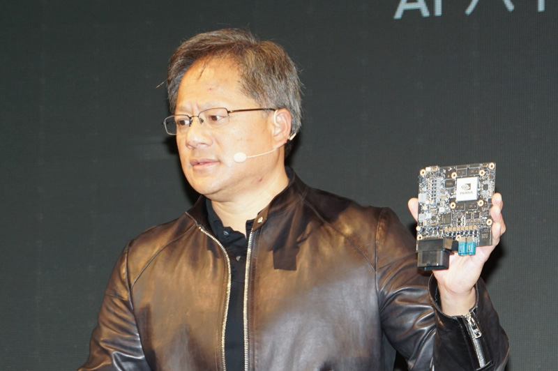 NVIDIAがCES 2016で発表したDRIVE PX2の開発ボード。