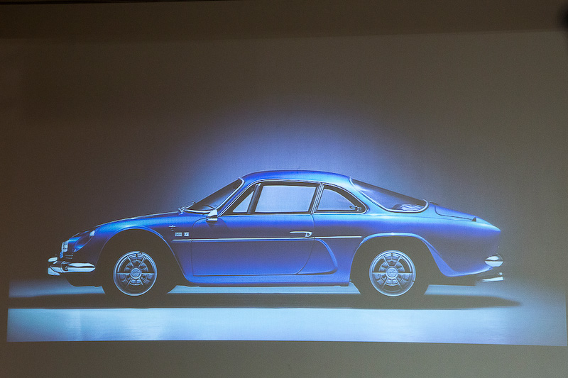 そのアルピーヌが2016年の末に新型車を発表する。今回のイベントはアルピーヌ復活を報告するものとのこと
