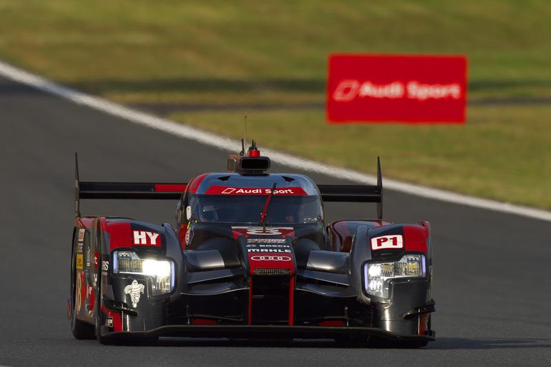 公式練習2回目、アウディ勢トップは全体2位の8号車「アウディ R18」