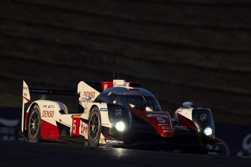 公式練習2回目、トヨタ勢トップは全体5位の5号車「トヨタ TS050 ハイブリッド」
