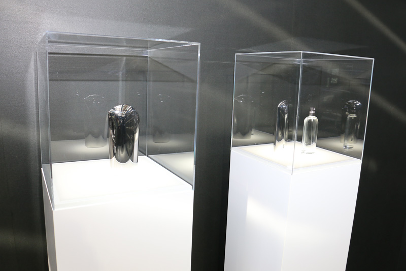 資生堂とマツダが共同開発したフレグランス「SOUL of MOTION」。香りを体感できるムエット(試香紙)も用意されていた