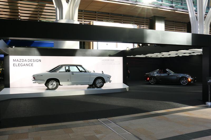 東京ミッドタウン プラザ1階 キャノピー・スクエアにあるマツダブース