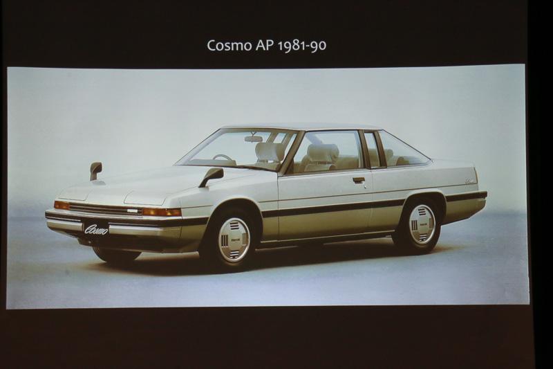 1980年代には「ファミリア」「コスモ AP」といった直線基調のクリーンなデザインが主流になる