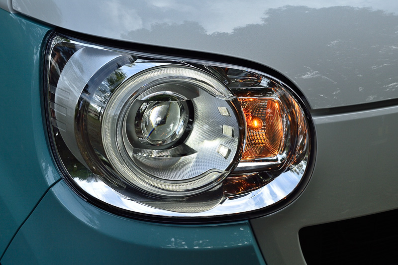 ヘッドライトの点灯パターン