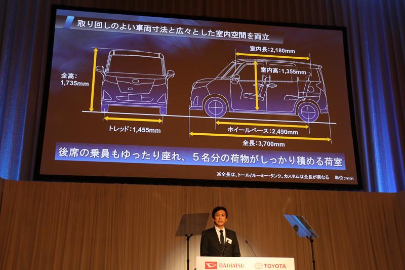 5人の乗員とそれぞれの荷物を収める車内スペースと扱いやすいコンパクトボディを両立
