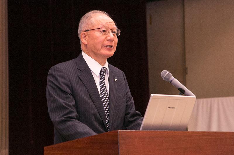 独立行政法人自動車事故対策機構 理事長 鈴木秀夫氏