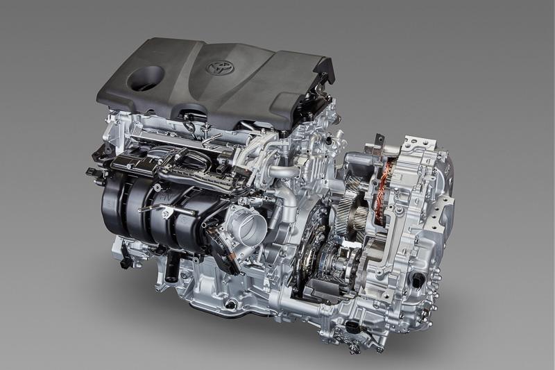 直列4気筒2.5リッター直噴ガソリンエンジン・トランスアクスル