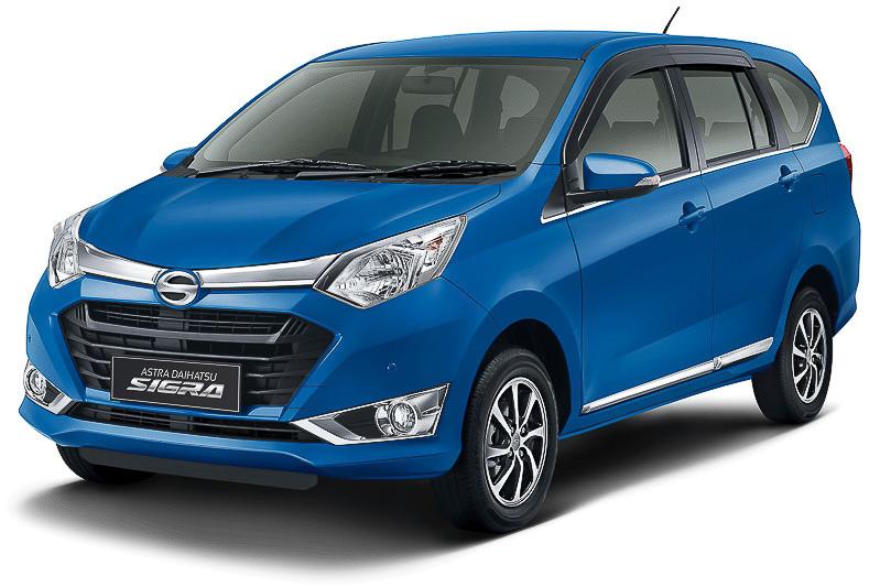 ダイハツがインドネシアで販売している7人乗り乗用車「シグラ」