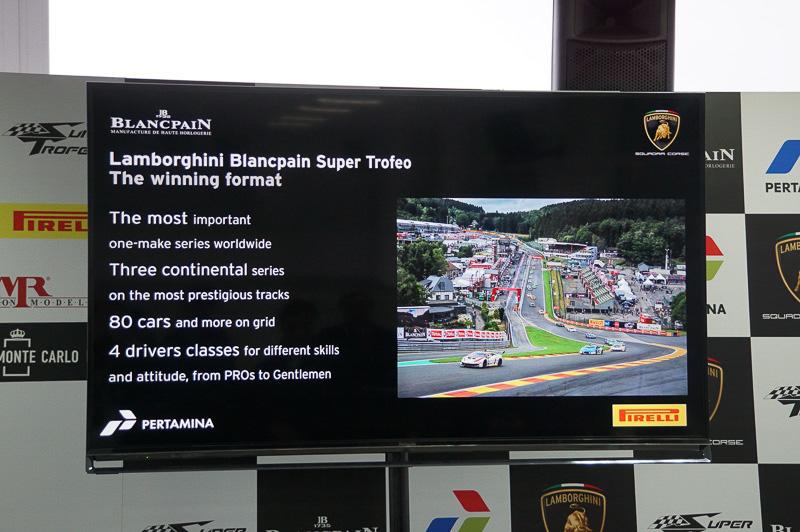 ランボルギーニ・ブランパン・スーパー・トロフェオの説明、現状では世界で一番成功しているワンメイクレースとなっている