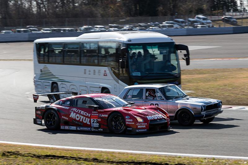 新旧GT-Rの競演